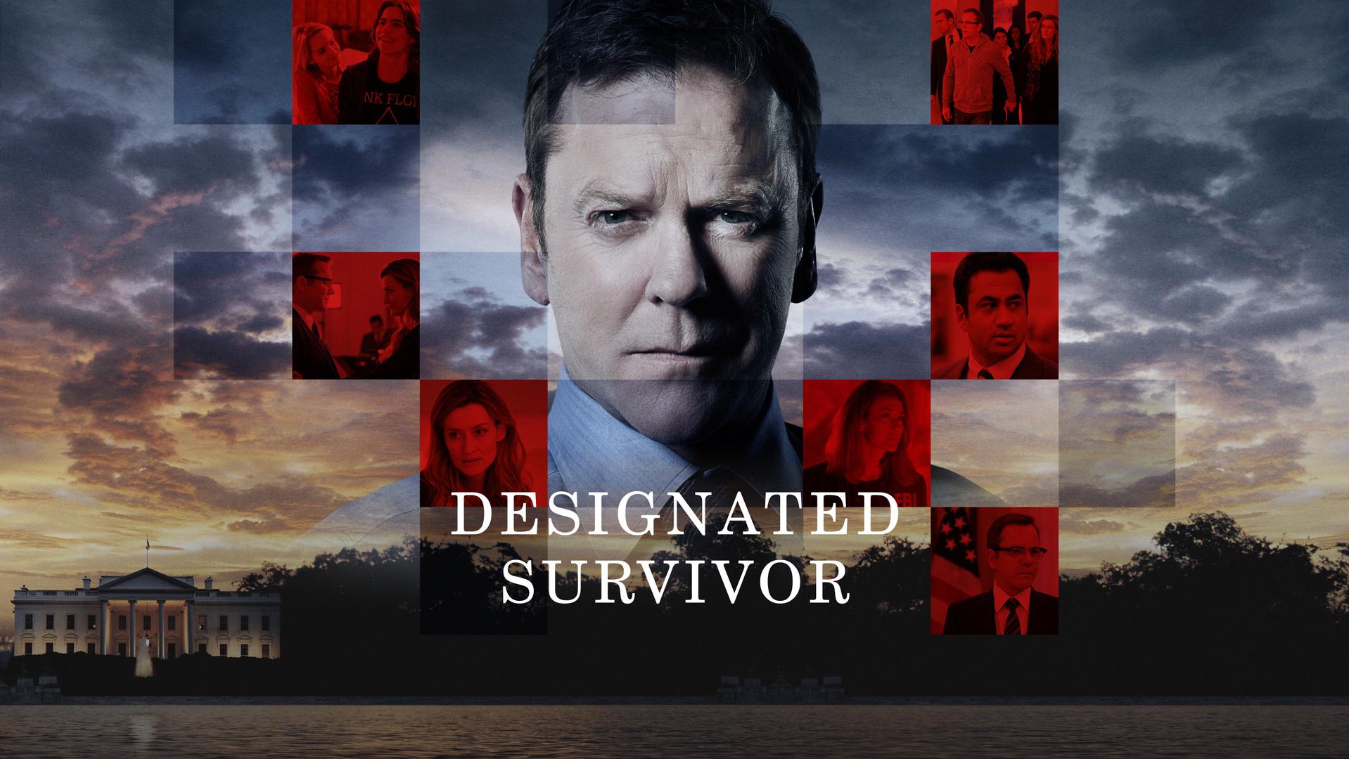 キーファー主演の新ドラマ『サバイバー/宿命の大統領』がついにNetflixで視聴可能になりました!